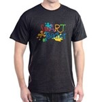 SmART Art Teacher Dark T-Shirt