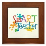 SmART Art Teacher Framed Tile