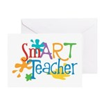 SmART Art Teacher Greeting Card
