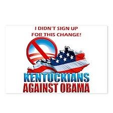Kentuckians Against Obama Postcards (Package of 8)