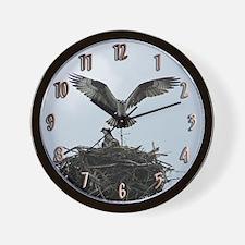 Female Osprey Wall Clock