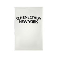 Schenectady Rectangle Magnet