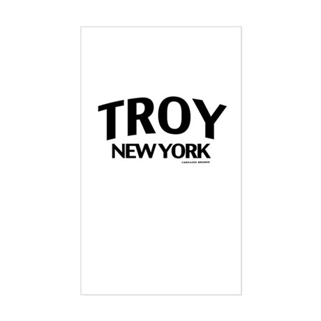Troy Sticker (Rectangle)