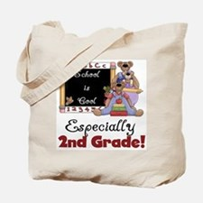 2nd Grade School is Cool Tote Bag