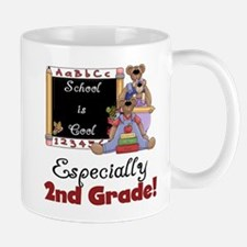 2nd Grade School is Cool Mug