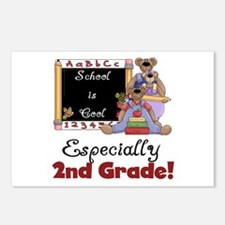 2nd Grade School is Cool Postcards (Package of 8)
