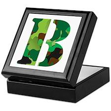 The Letter 'B' Keepsake Box