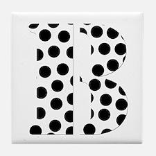 The Letter 'B' Tile Coaster