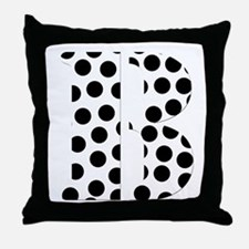The Letter 'B' Throw Pillow