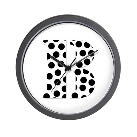 The Letter 'B' Wall Clock