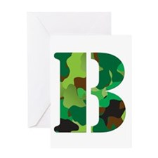 The Letter 'B' Greeting Card