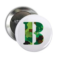 "The Letter 'B' 2.25"" Button"
