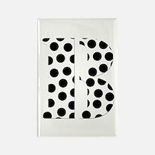 The Letter 'B' Rectangle Magnet