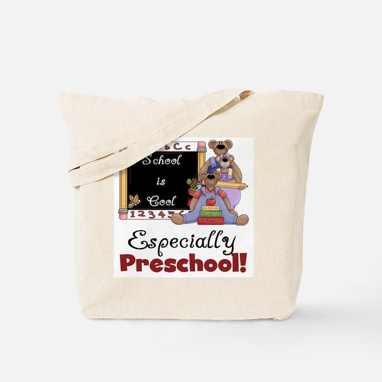 Preschool School is Cool Tote Bag