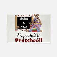 Preschool School is Cool Rectangle Magnet