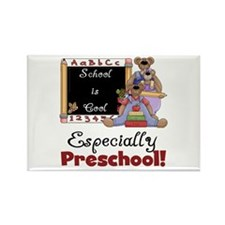 Preschool School is Cool Rectangle Magnet (10 pack