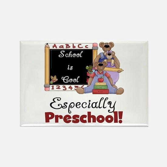 Preschool School is Cool Rectangle Magnet (100 pac