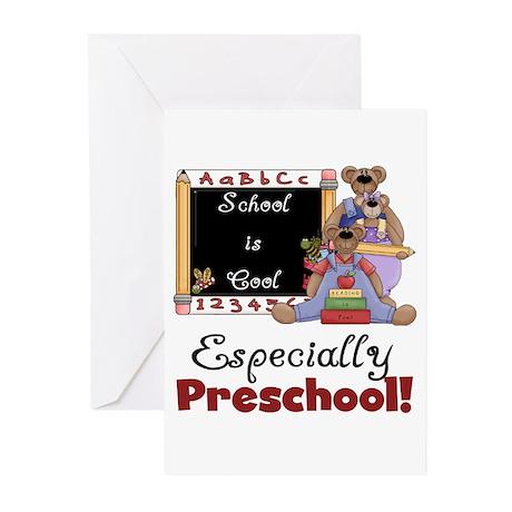 Preschool School is Cool Greeting Cards (Pk of 10)