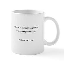 Phil 4:12-13 Mug Aa
