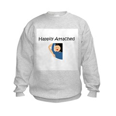 Happily Attached 1 Sweatshirt
