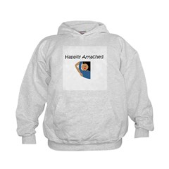 Happily Attached 2 Hoodie