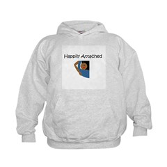 Happily Attached 3 Hoodie