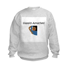 Happily Attached 3 Sweatshirt