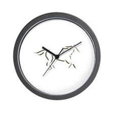 Wind Horse Wall Clock