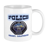 Hemet California Police Mug