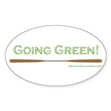 Going Green Decal