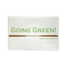 Going Green Rectangle Magnet