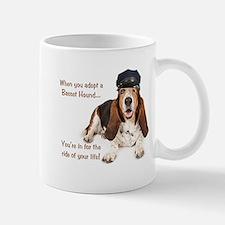 Basset Hound Chauffeur Mug