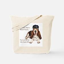 Basset Hound Chauffeur Tote Bag