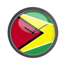 Guyana Wall Clock