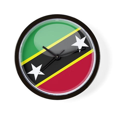 St. Kitts / Nevis Wall Clock