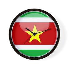 Suriname Wall Clock