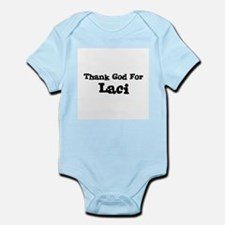 Thank God For Laci Infant Creeper