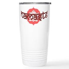 Namaste Lotus Travel Mug
