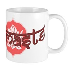 Namaste Lotus Mug