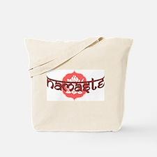 Namaste Lotus Tote Bag