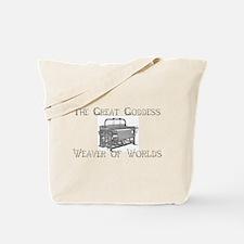 Loom Goddess Tote Bag