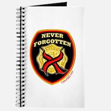 Thin Red Line NeverForgotten Journal