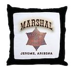 Jerome Arizona Marshal Throw Pillow
