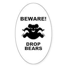 Drop Bears! Decal