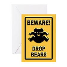 Drop Bears! Greeting Cards (Pk of 10)