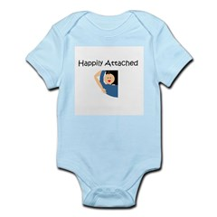 Happily Attached 1 Infant Creeper