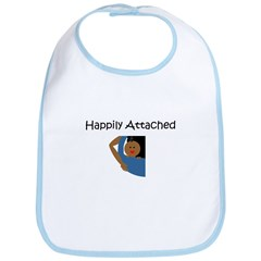 Happily Attached 3 Bib