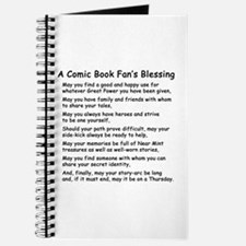 Comic Book Blessing Journal