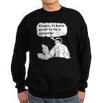 Damn It Feels Good To Be A Gangsta Sweatshirt (dar