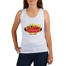 Flaming Crazy for Glass Women's Tank Top